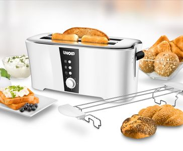 UNOLD Toaster38020 White 1350W (38020)