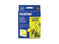 BROTHER LC1000Y INK CARTRIDGE YELLOW NS