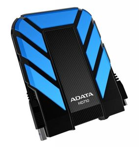 A-DATA HDD ext. 2,5 2TB ADATA DashDrive HD710 blue, shock protected (AHD710-2TU3-CBL)