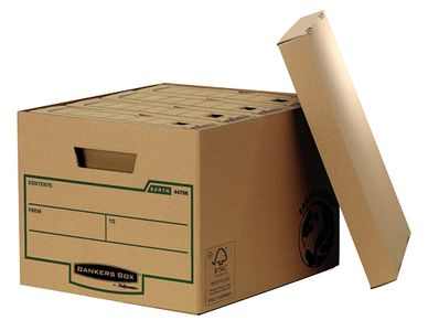 FELLOWES Earth Archival box standard 4 Pack (4470606)