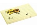 POST-IT Notes POST-IT linieret 76x127mm gul