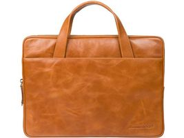 Leather case Silkeborg for PC & MacBooks up to 13'' - Golden