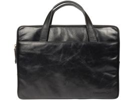 DBRAMANTE1928 Leather case Silkeborg for PC & MacBooks up to 13'' - Black (BG13GTBL0560)