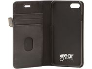 Gear Buffalo iPhone 7, Svart Lommebokveske for iPhone 7