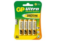 GP Super Alkaline 4-pack - AA - Batteri