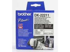 BROTHER P-Touch DK-22211 white continue length film 29mm x 15.24m