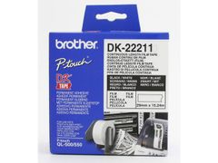 Brother DK22211 endlesslabels film