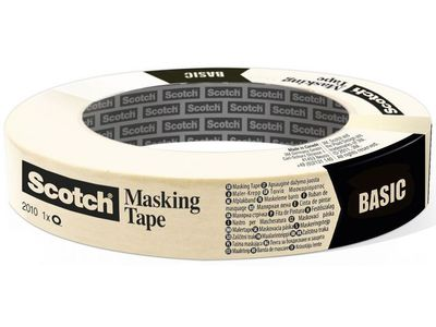 3M Maskeringstejp SCOTCH 2010 48mmx50m (CT060927879)