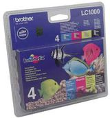 BROTHER LC1000 Valuepack cmyk
