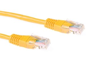 ACT Cat5E UTP Patchkabel,  Gul 20,0 meter (IB 5820)