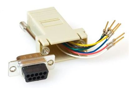ACT Adapter RJ45 Hun - DB9 Han Serielladapter (TD09M8)