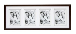 S65KQ4           4x10x15 wooden frame gallery  brown