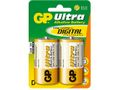 Batteri GP Ultra LR20/D 1,5V 2/fp / GP (151024)