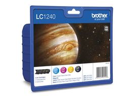BROTHER LC1240VAL  ink cartridge value pack (LC1240VALBPDR)