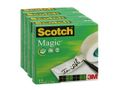 SCOTCH Tape SCOTCH® Magic 810 19mmx33m (4)