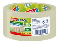 Emballagetape Tesapack ecoLogo 50mmx66m transparent