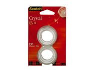 SCOTCH Tape SCOTCH® Crystal 12mmx10m refill (2) (61210R2*12)