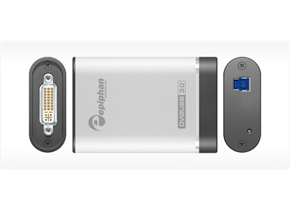 EPIPHAN DVI2USB 3.0 LOSSLESS PIXEL-FOR PIXEL VIDEO CAPT FULL OPERATOR CTRL (ESP1137)