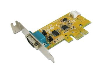 SUNIX PCI Express 1xSerieport Lavprofil 1 Stk RS232 9-pin Power 5/12V (6427PL)