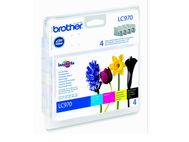 BROTHER LC970VALBPDR  value pack for DCP-135C/ 150C  MFC-260C