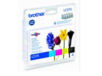 BROTHER DCP135/ 150C Valuepack (LC970VALBPDR)