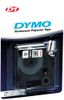 DYMO D1 12mm Permanent, Sort/ Hvit (S0718060)