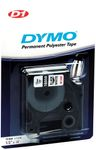 DYMO D1 Tape Perm.polytape 12mm Black on White (S0718060)