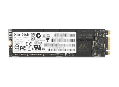 HP 256GB TLC PCI-E 3X4 NVME SSD F/ DEDICATED NOTBOOK INT (1FU87AA)