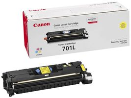 CANON CLBP 5200 Toner Light Yellow 701LY (9288A003)