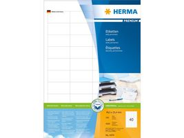 HERMA Label super print Herma 48.5x25.4mm. (100) (4474)
