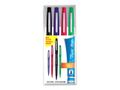 PAPER MATE Fineliner PAPERMATE Flair Fun ljus 4/FP