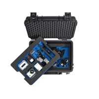 B&W Outdoor Case Type 3000/B black with GoPro 4 Inlay