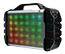 iDance Blaster 200, portable bluetooth speaker with disco lights, black