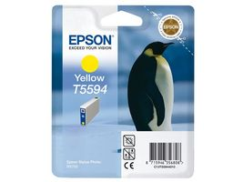 Yellow Ink Cartridge T559 For Stylus Photo RX700