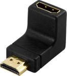 DELOCK HDMI-adapter, 19-pin hane till