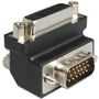 DELOCK adapter dvi 24+5 pin female to vga 15 pin male 90`