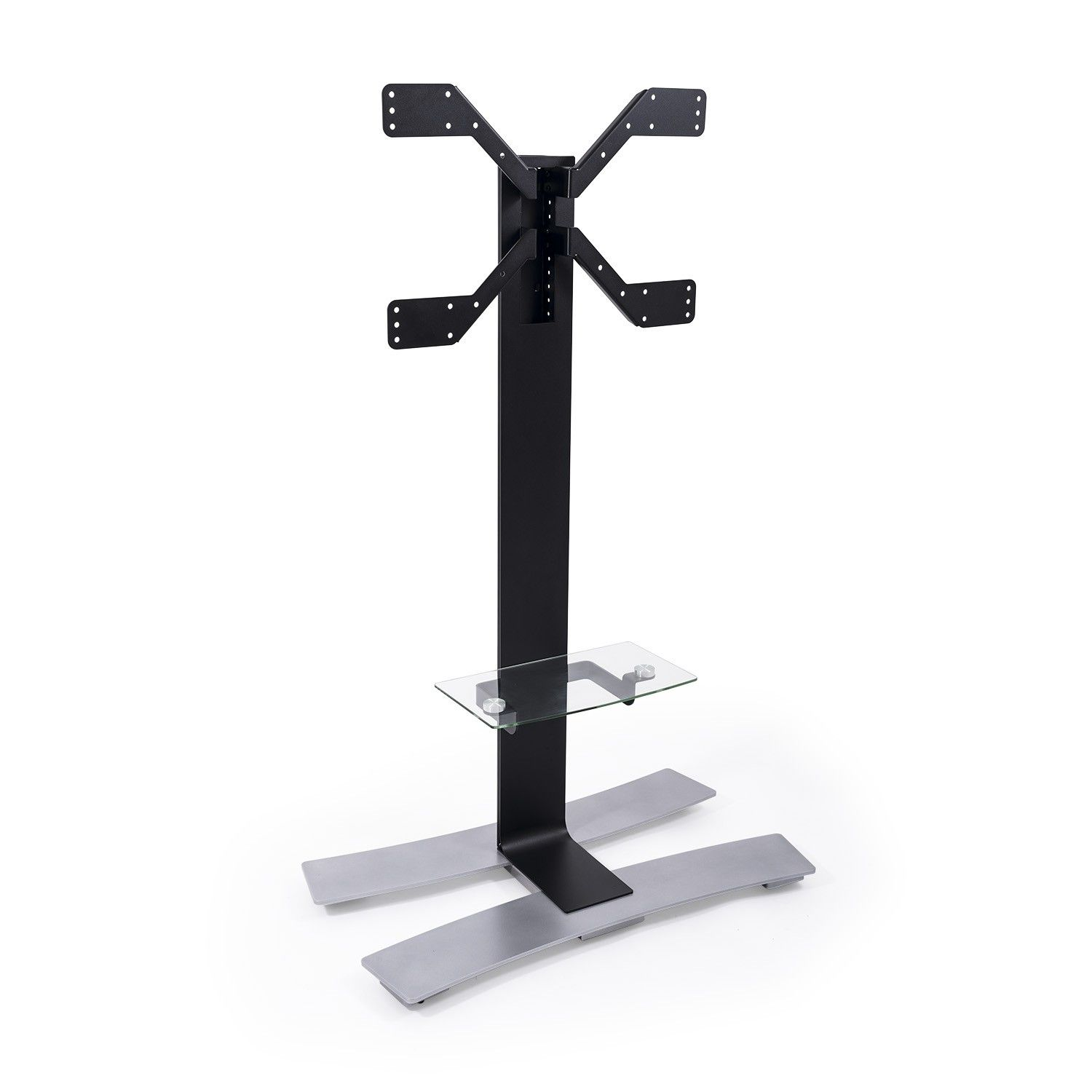 ERARD Floor Stand with Wheels and Shelf 1400 Black (039051)