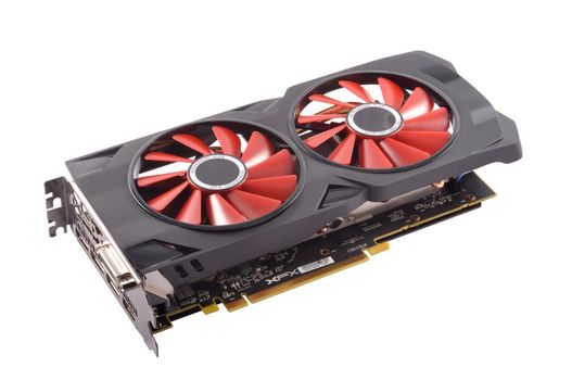 1 HDMI AMD Radeon RX 580 8GB GDDR5 PCI Express 3.0 Gaming Graphics Card 3 DP
