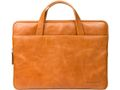 "DBRAMANTE1928 Sleeve 15"" Golden Tan Leather - model Silkeborg"
