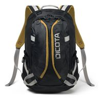 Backpack Active 14-15.6 black/ yellow