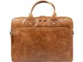 DBRAMANTE1928 Helsingborg PC bag 16'' - Golden Tan