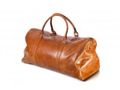 DBRAMANTE1928 Kastrup 2 Weekender Bag - Dark Tan