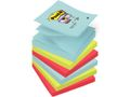 POST-IT Z-Notes Sup Stic Miami 76x76 mm 6/FP