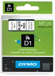 DYMO D1 12mm Black/Red  labels 45017 (S0720570)