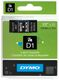 DYMO D1 12mm tape white/ black