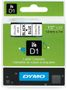 DYMO D1 12mm Black/Blue labels 45016