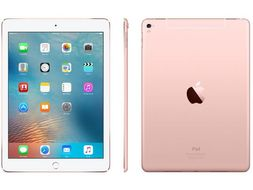 "APPLE iPad Pro 9.7"" 32GB Cell Rose Gull WiFi+Cell,  9.7"" Retina skjerm, 12MP/5MP Kamera, iOS 9.3 (MLYJ2KN/A)"
