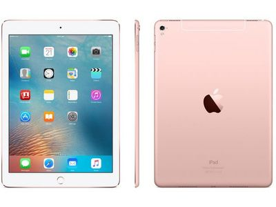 APPLE IPAD PRO A9X DC 2.26GHZ 128GB 4GB 9.7IN IOS ROSE GOLD ND (MM192KN/A)