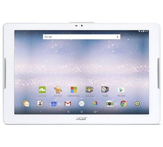 ACER Iconia One 10 B3-A32 Tablet Wi-Fi 16 GB HD IPS Android 6.0 weiss (NT.LDEEG.002)