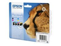 EPSON DuraBrite Quad Pack Incl. T0711, T0712, T0713, T0714 Ink Cartridges New Pack Size
